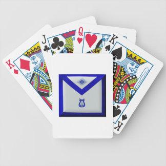 Masonic Organist Spelkort