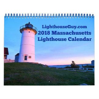 Massachusetts fyrkalender 2018 kalender