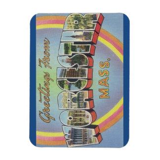Massachusetts Worcester magnet