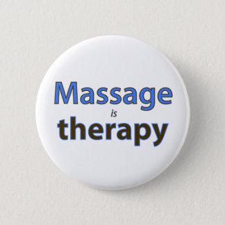 Massagen är terapi standard knapp rund 5.7 cm