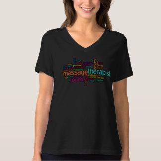 MassageT-tröja: Massageterapeut Tee