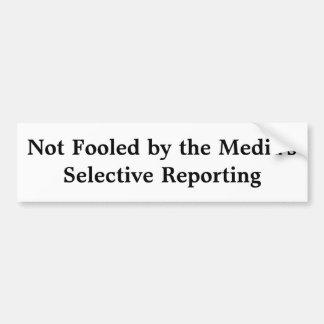 Massmedia selektiva anmäla bildekal