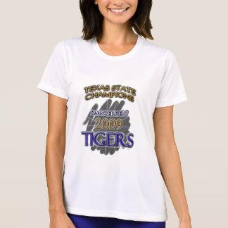 Mästare 2009 för Daingerfield tigerTexas fotboll! T Shirts
