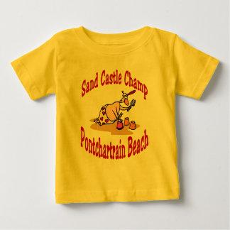 Mästare för slott för Pontchartrain strandSand T-shirt