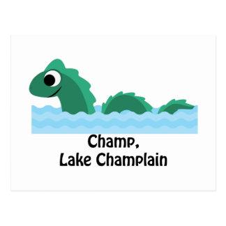 Mästare sjö Champlain Vykort