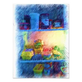 mat i kylen fototryck