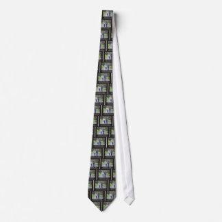 Mäta av en man i livet av ett barn slips
