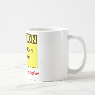 MATA INTE BJÖRNEN! --för henne Kaffemugg
