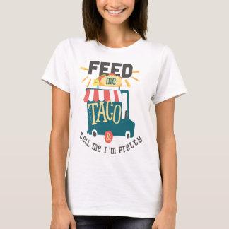 Mata mig Tacoroligtskjortan T-shirt