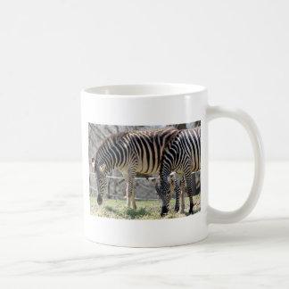 Mata zebror kaffemugg