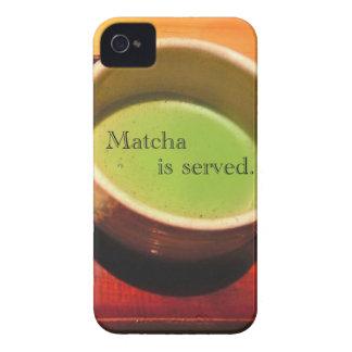 Matcha tjänas som iPhone 4 Case-Mate skal