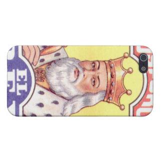 Matchar kungen iPhone 5 fodraler