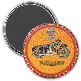 Matchless motorcyklar magnet rund 7.6 cm