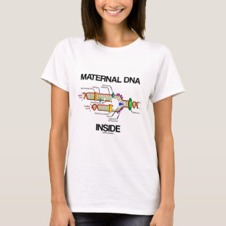Maternal DNA-insida (DNA-replicationen) T-shirts