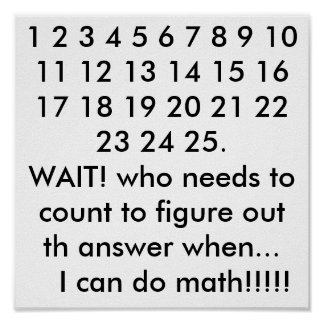 math affischer