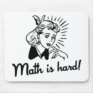 Math är hård musmatta
