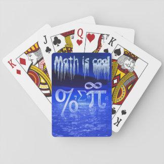 Math är kall kortlek