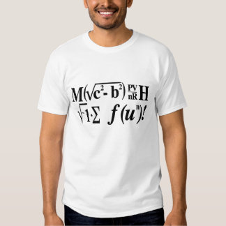 Math är rolig! tee shirt