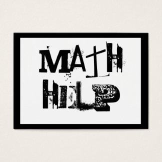 Math handleder 5 visitkort