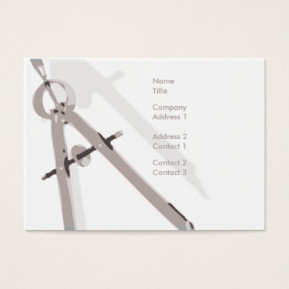 Math - knubbig visitkort