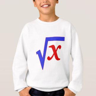 Math - kvadrera rotar av X T-shirts