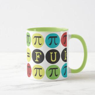 Math likställer roligt - den färgrika modet Pi -