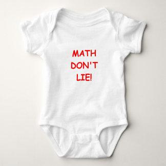 math ljuger inte tröjor