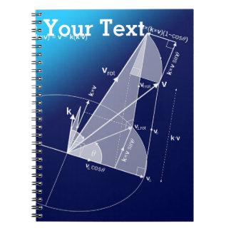 Math Trigonometrystil Anteckningsbok