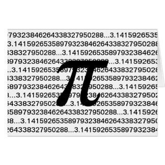 MathGeek för Pi 3,14 Hälsningskort