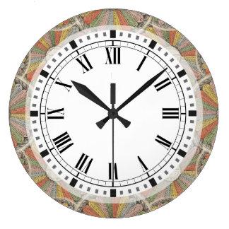 Mathgeeks bord för multiplikation för vintage stor klocka