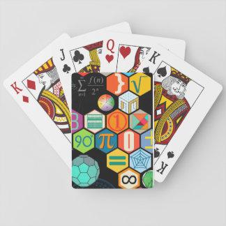 Mathklassiker som leker kort spelkort
