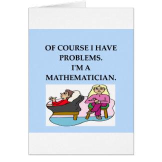 mathterapi hälsningskort