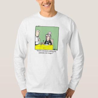 Mathumorskjorta för honom t shirt