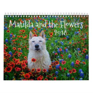 Matilda och blommorna kalender