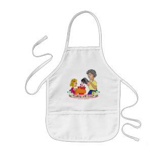 Matlagning med gramförklädet barnförkläde