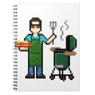 Matlagning på BGEN grillar Anteckningsbok