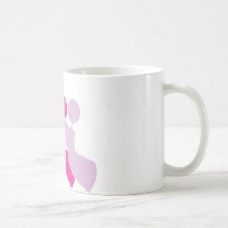 Matrisen pinken Pudel Kaffemugg