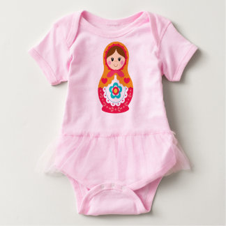 Matryoshka Bodysuit med den orange tutuen - som är T Shirts