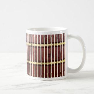 matt struktur för bambu kaffemugg