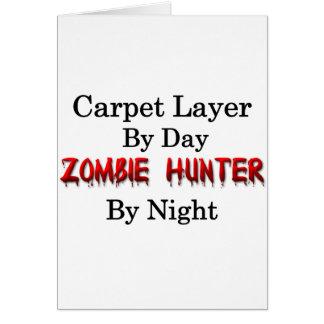 Matta jägaren för lagrar/Zombie Hälsningskort