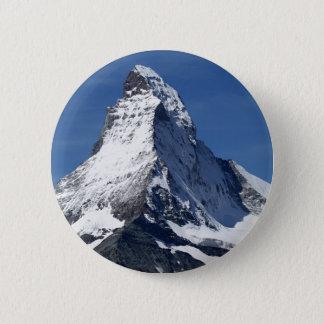 Matterhorn alperna standard knapp rund 5.7 cm