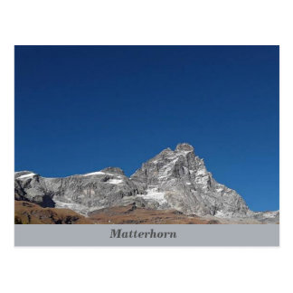 Matterhorn alperna vykort