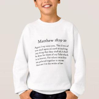 Matthew 18:19 - 20 t-shirt