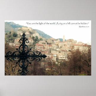 Matthew 5:14 poster