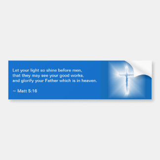 Matthew 5:16 bildekal