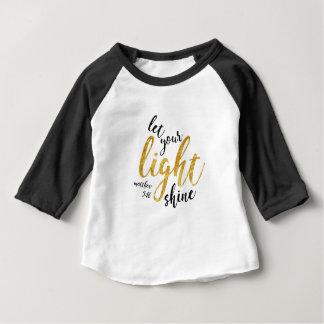 Matthew 5:16 - sken ditt ljust t shirt