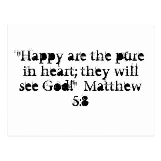 Matthew 5:8vykort vykort