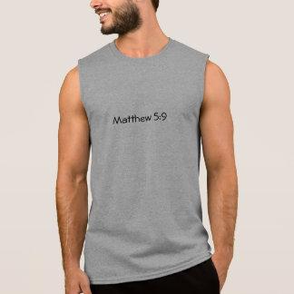 Matthew 5:9 sleeveless tee