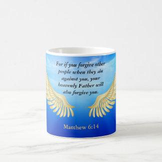 Matthew 6:14 vit mugg