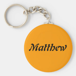 Matthew Rund Nyckelring
